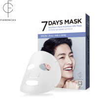 FORENCOS Song Joong ki Mask Pack[Monday] 7 Days Mask Set (25mlx10pcs), FORENCOS